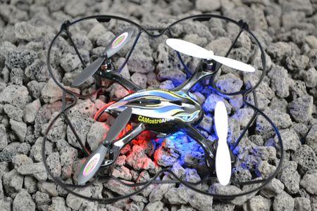 Jamara Camostro AHP+ Quadrocopter m. Kamera RC Drohne Heli Jamara 038630 – Bild 1