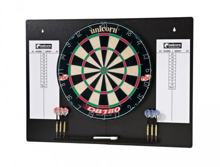 Unicorn Dartboard DB 180 Home Dart Centre Steeldart PDC Bristle Dartboard – Bild 1