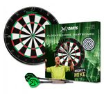 XQMax Michael van Gerwen Dartboard flocked Home Dart Board Steeldart Dartscheibe