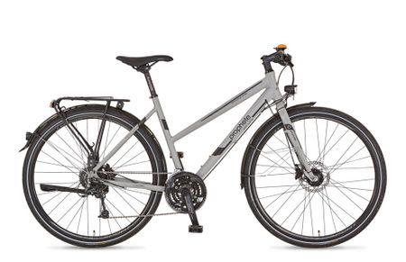 """Prophete Alu-Trekking 28"""" Entdecker Sport Damen Fahrrad Trekkingrad 27 Gang  Rad – Bild 1"""