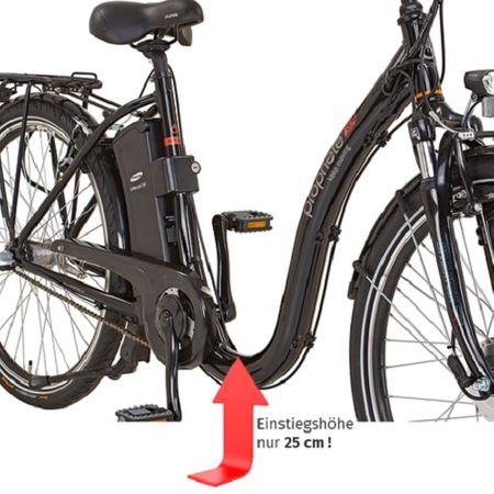 "Prophete E-Bike Alu-City Tiefeinsteiger 26"" Geniesser e8.4 Elektrofahrrad 3-Gang – Bild 2"