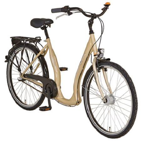"Prophete Tiefeinsteiger 26"" Geniesser 640 Fahrrad 3-Gang Citybike Cityrad – Bild 4"
