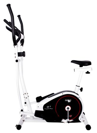 Christopeit Crosstrainer Heimtrainer CT 4 2in1 Ellipsentrainer Fitness Fitnessgerät – Bild 1