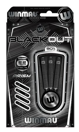 Winmau Blackout Steeldart 1043, 24 g – Bild 2