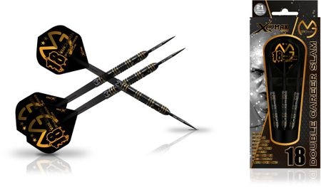 XQ MAX MvG Double Career Slam Edition Steel Darts Dartpfeile 25 g Steeldarts