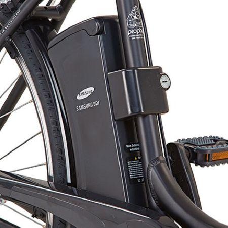 "Prophete E-Bike GENIESSER e9.3 Alu City Elektro Fahrrad 28"" Frontmotor Blaupunkt – Bild 3"