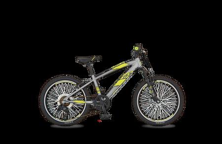 "REX GRAVELER Twenty Kids Bike 20"" Mountainbike grau Jugendfahrrad MTB"
