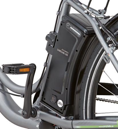 Prophete E-Bike Navigator Pro Damen Alu City Elektro Fahrrad + extra Akku B Ware – Bild 6
