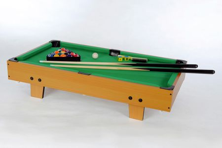 Winsport Mini Billard Tischaufleger Kinder Billardtisch Pool Bandito 5010.01