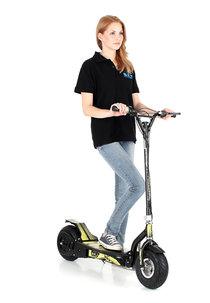 sxt scooter sxt300 elektroroller 300w elektroscooter escooter 20 km h schwarz fun sport. Black Bedroom Furniture Sets. Home Design Ideas