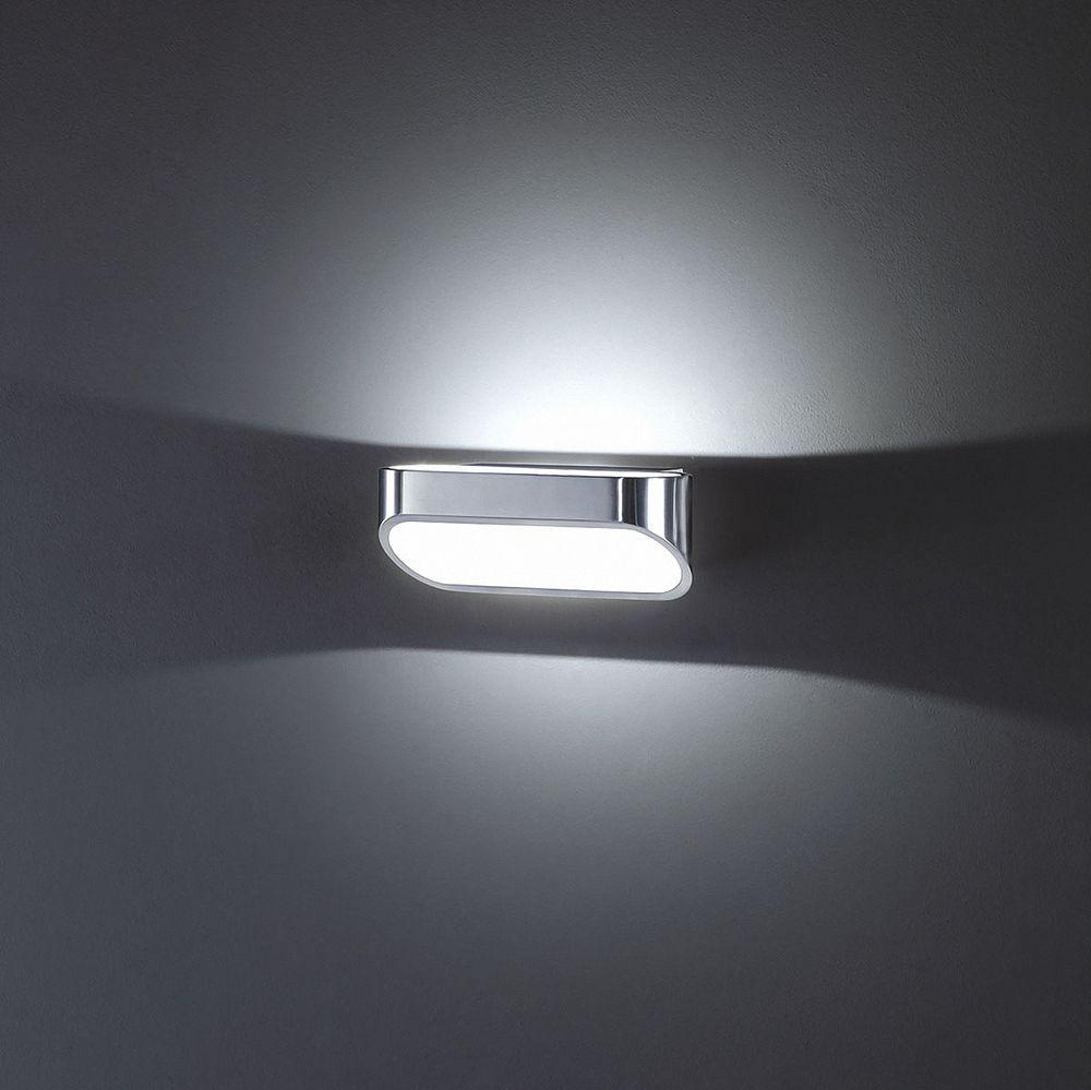 Helestra ONNO Wandleuchte aluminium poliert - mattweiß 18/1225.25