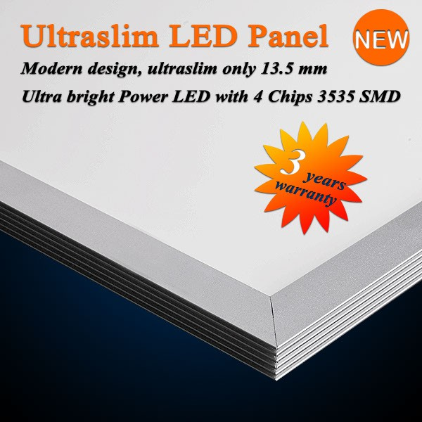 Ultraslim LED Panel Warmweiß 850LM 15W 30x30CM