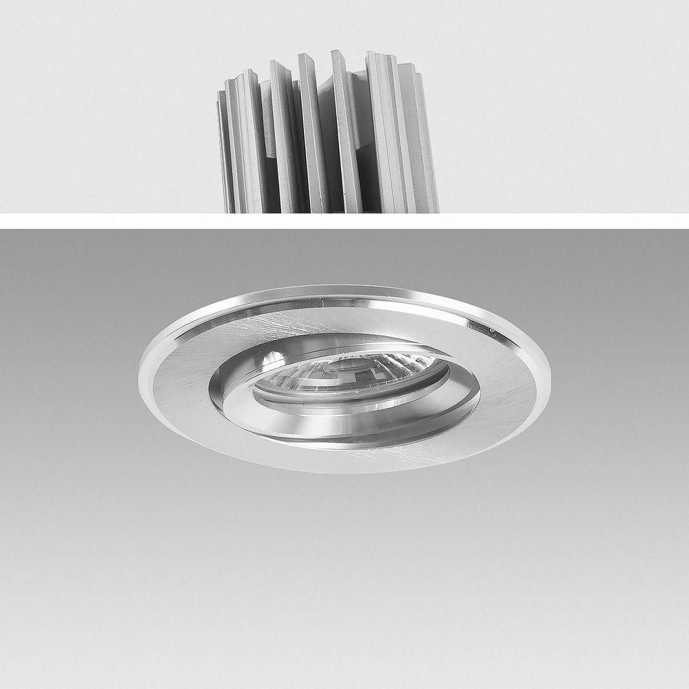 LED Einbauleuchte 4000K Neutralweiß 9W 6332 dimmbar Ø 73mm