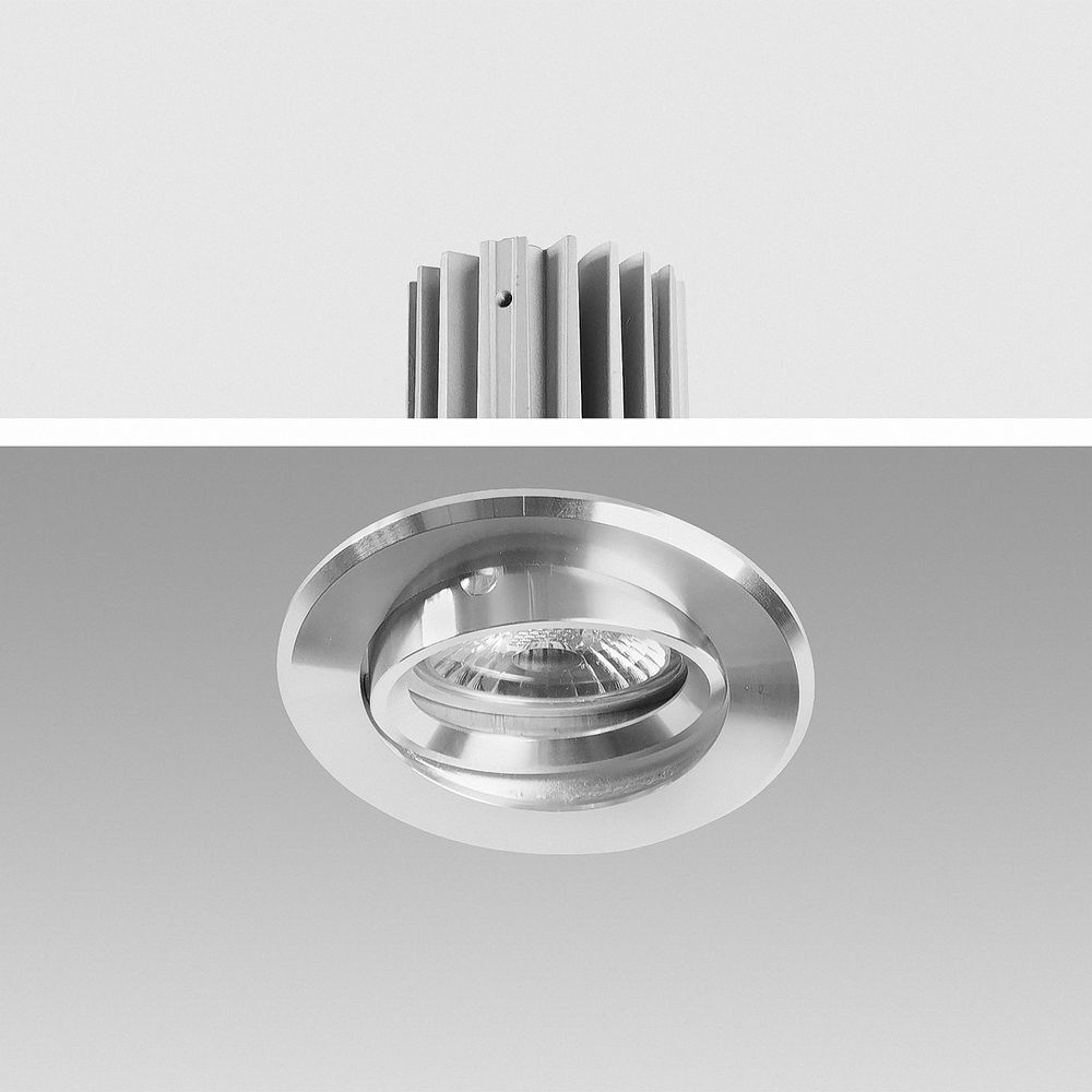 LED Einbauleuchte 2700K Warmweiß 9W 16302-1 dimmbar Ø 67mm