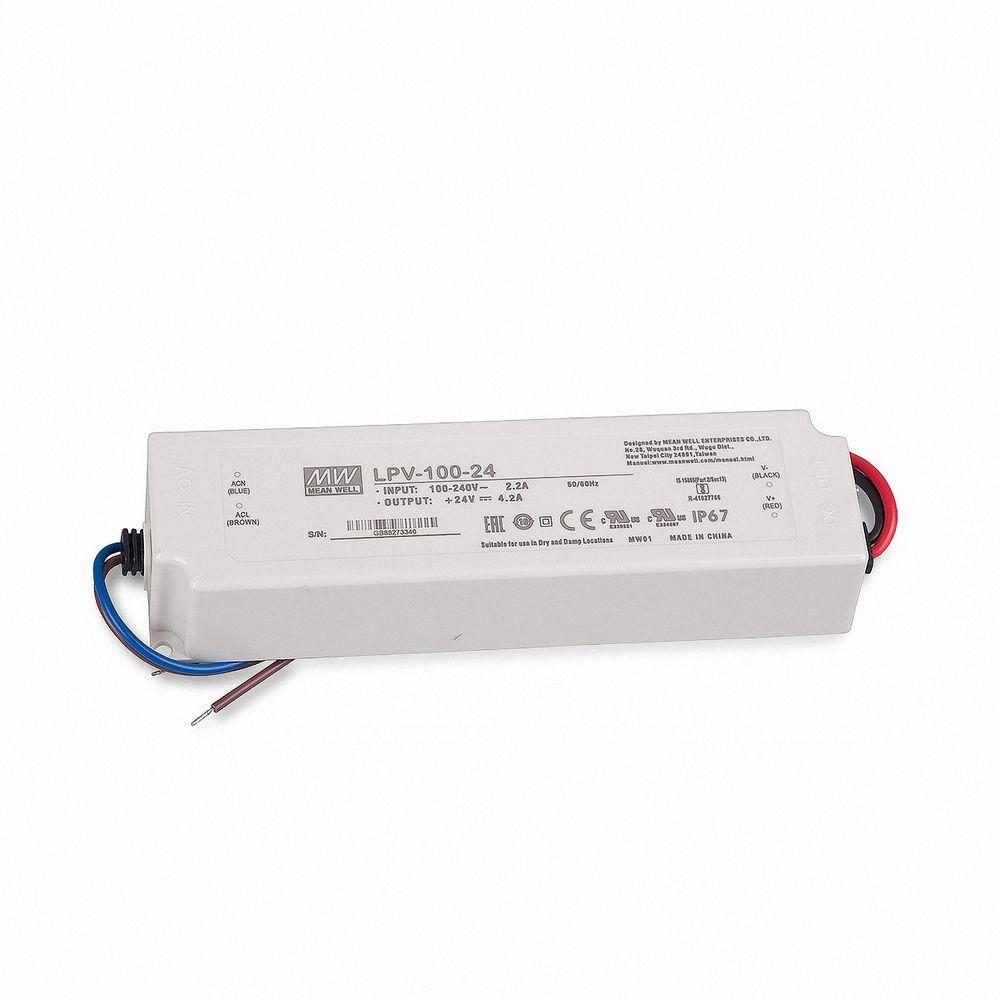 Mean Well LPV-100-24 Schaltnetzteil, 24V / 4,2A / 100W IP67