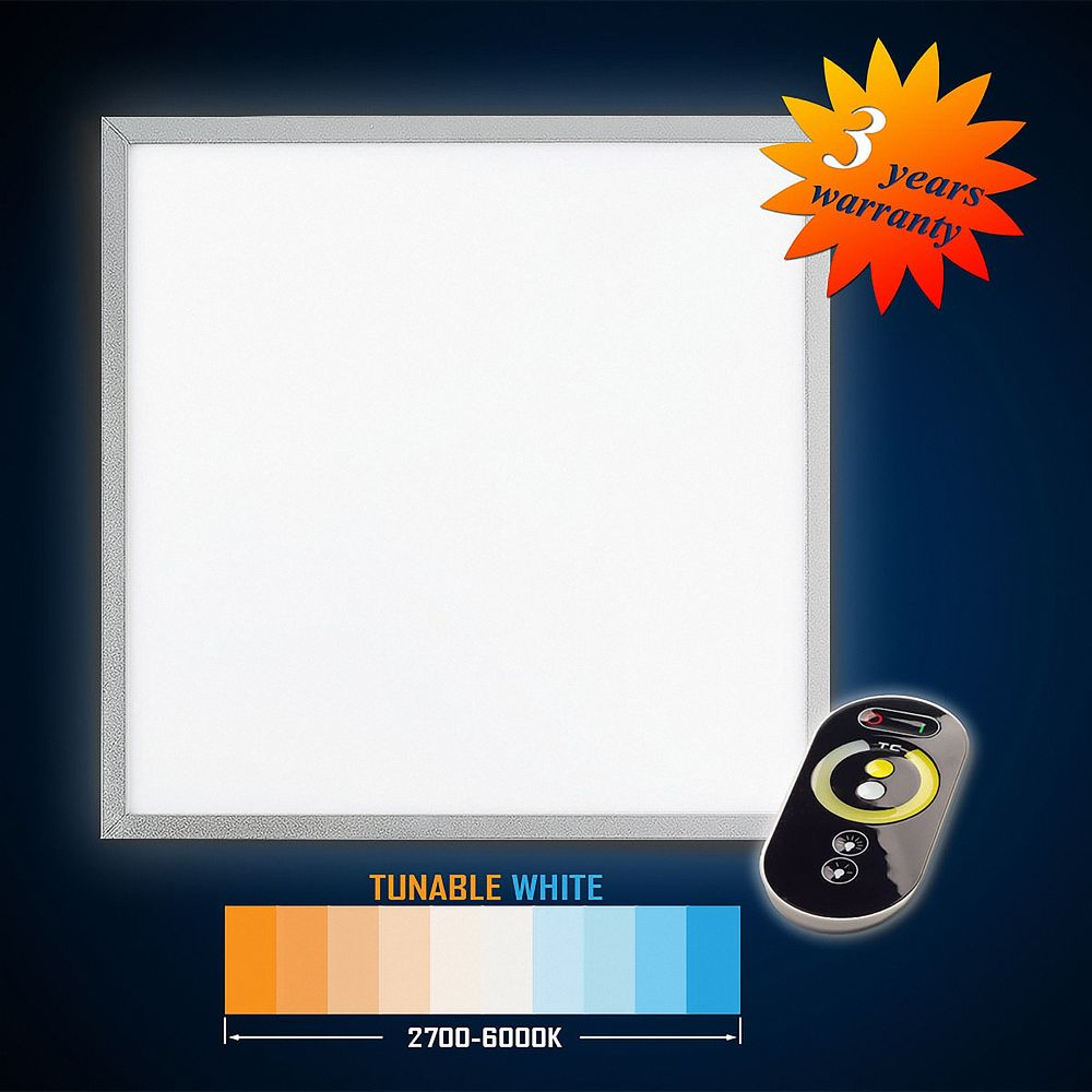 LED Panel 62x62 42W (S) TUNABLE WHITE (3000-5000K) Dimmbar