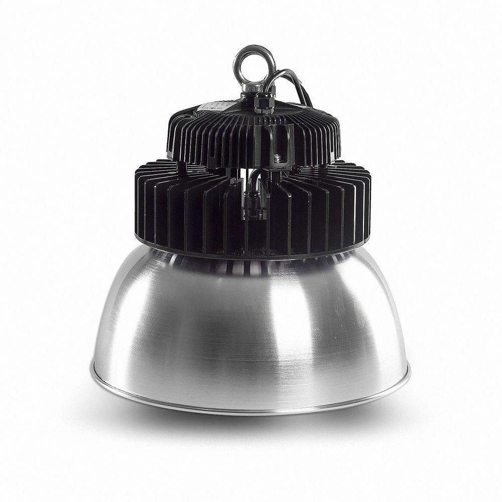 LED Hallenstrahler SN 100W 5000K Weiß IP65 D90 Aluschirm