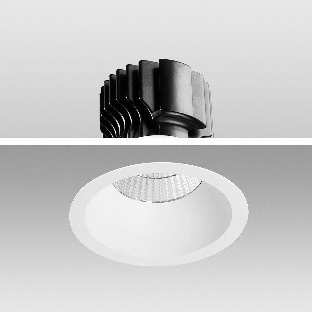 LED Einbauleuchte Genius 30W 930 Warmweiß S627 Ø 170mm