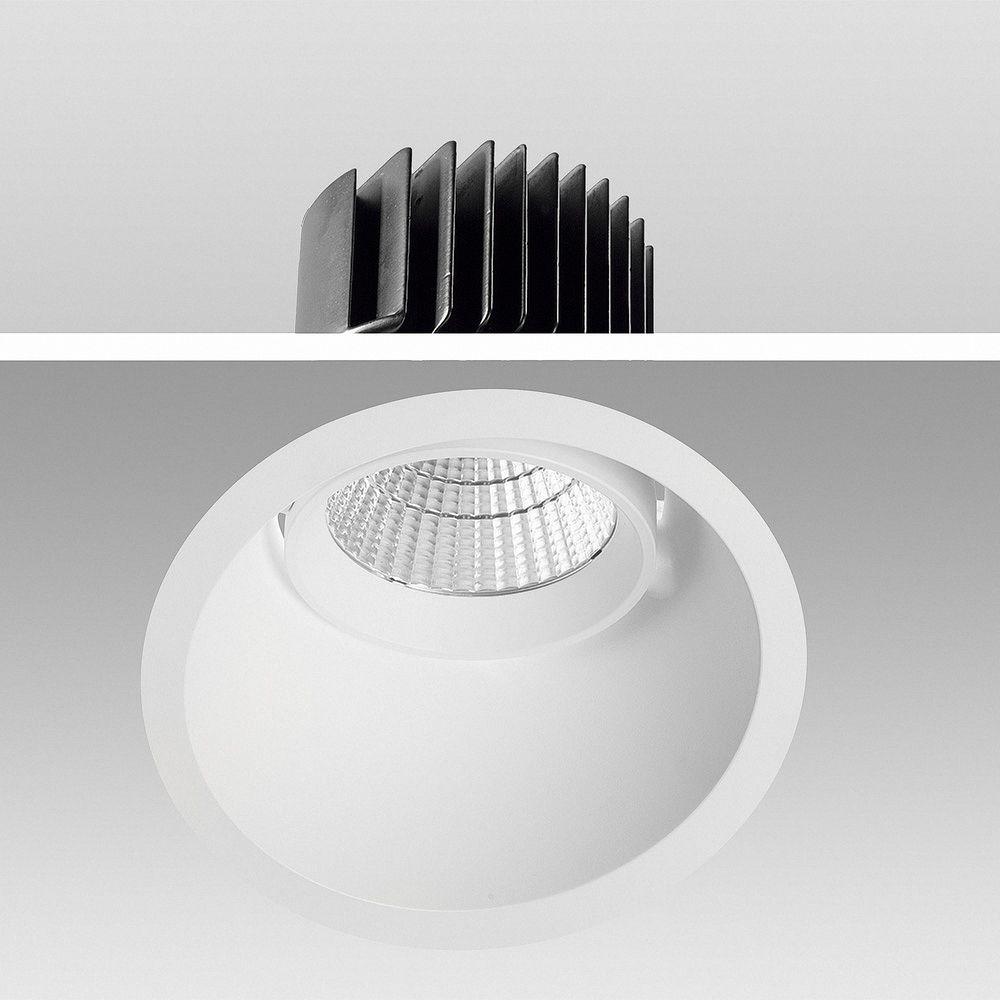 LED Einbauleuchte Genius 30W 930 Warmweiß S637 Ø 170mm