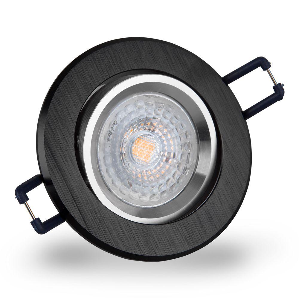 LED 6W 6500K Weiß Einbauleuchte GU10 16302-5 Ø 67mm