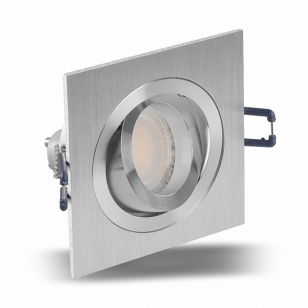 LED 6W 6500K Weiß Einbauleuchte GU10 6711 Ø 81mm