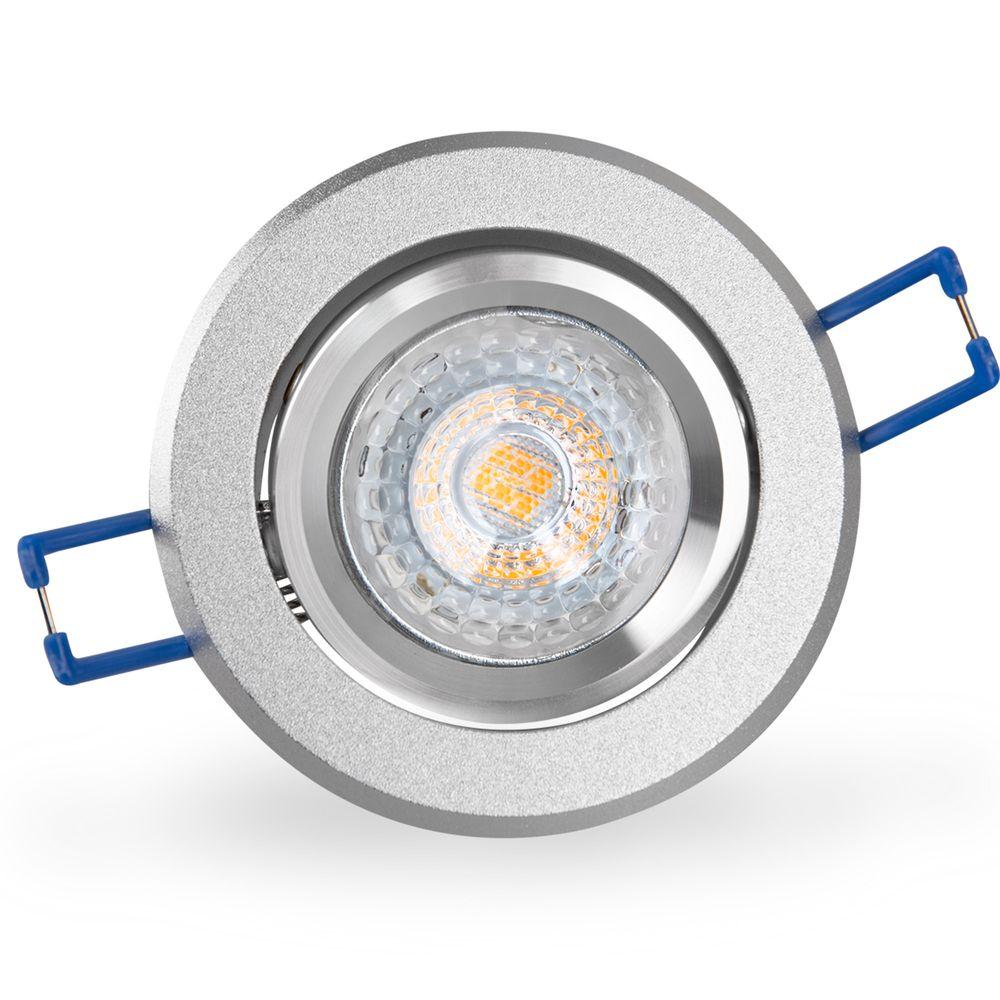 LED 6W 2700K Warmweiß Einbauleuchte MR16 16302-4 Ø 67mm