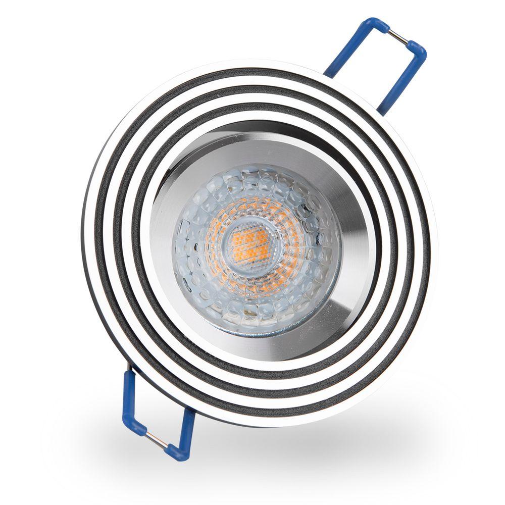 LED 6W 2700K Warmweiß Einbauleuchte MR16 6342 Ø 73mm
