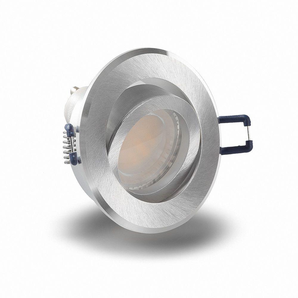 LED 6W 6500K Weiß Einbauleuchte MR16 5225 Ø 70mm