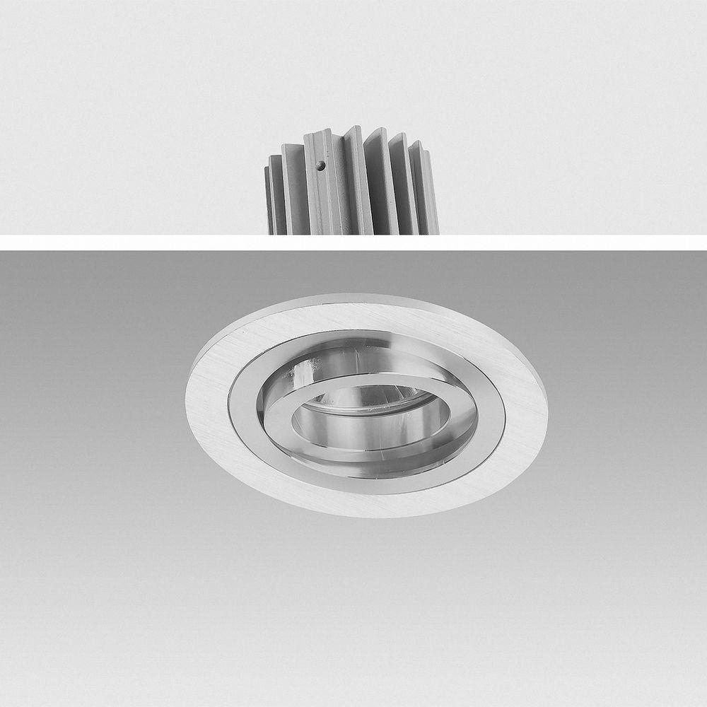 LED Einbauleuchte 5000K Tagweiß 9W 6611  Ø 81mm