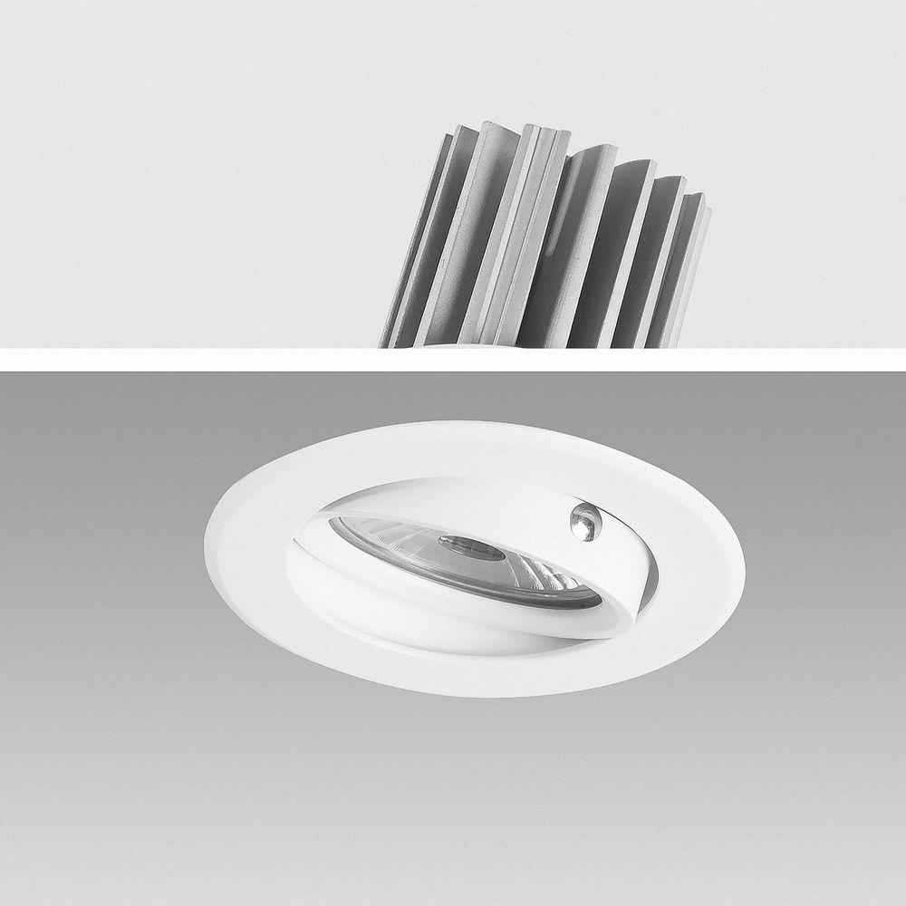 LED Einbauleuchte 2700K Warmweiß 9W 16302-3  Ø 67mm