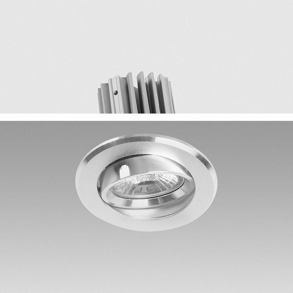 LED Einbauleuchte 4000K Neutralweiß 9W 16302-4  Ø 67mm