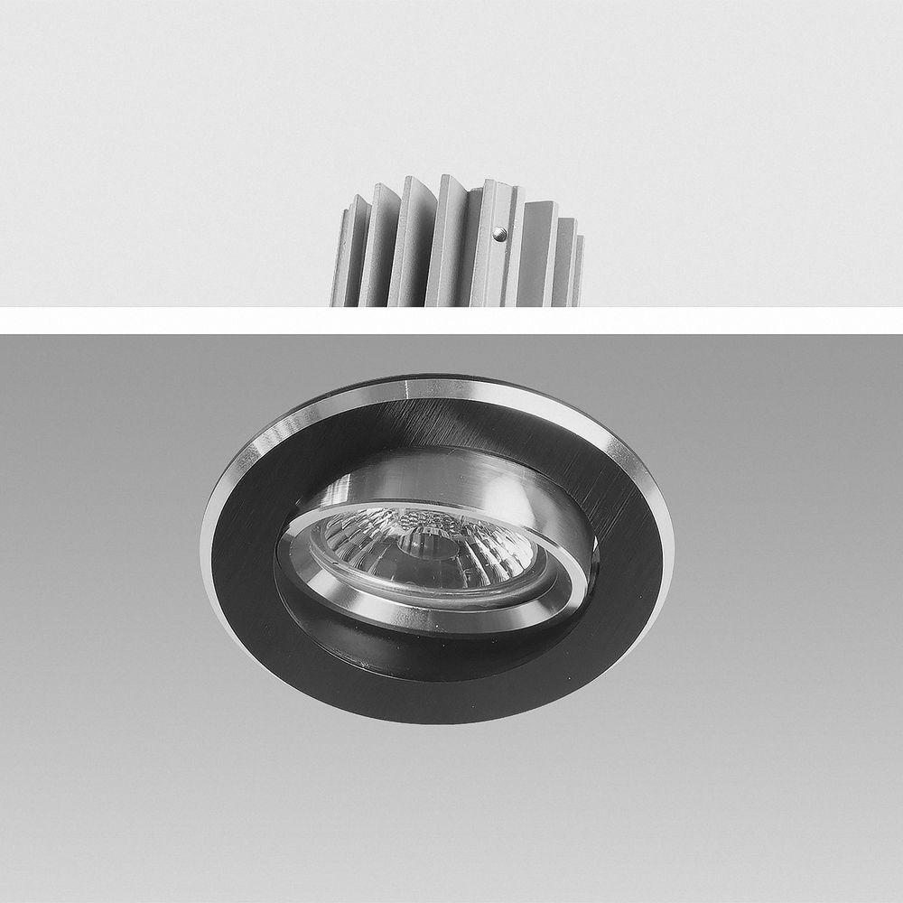 LED Einbauleuchte 3000K Warmweiß 9W 16302-9  Ø 67mm