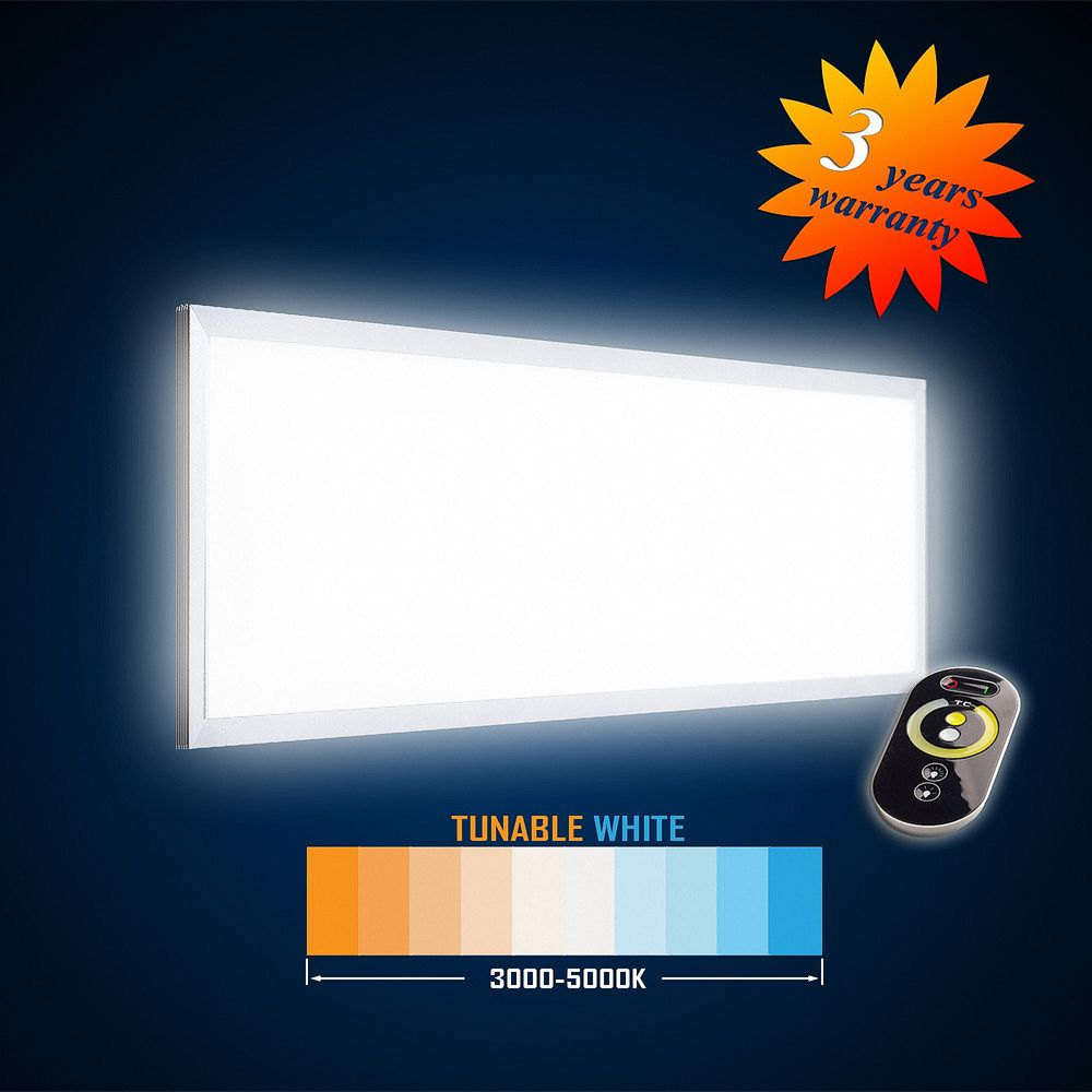 LED Panel 1195x295 42W (S) TUNABLE WHITE (3000-5000K) Dimmbar