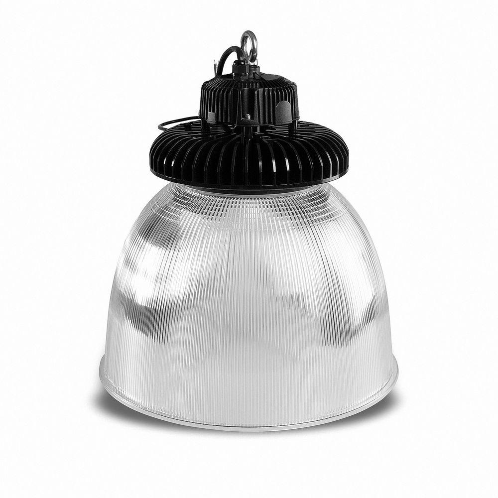 LED Hallenstrahler SN 100W 5000K Weiß IP65 D70 PC-Schirm