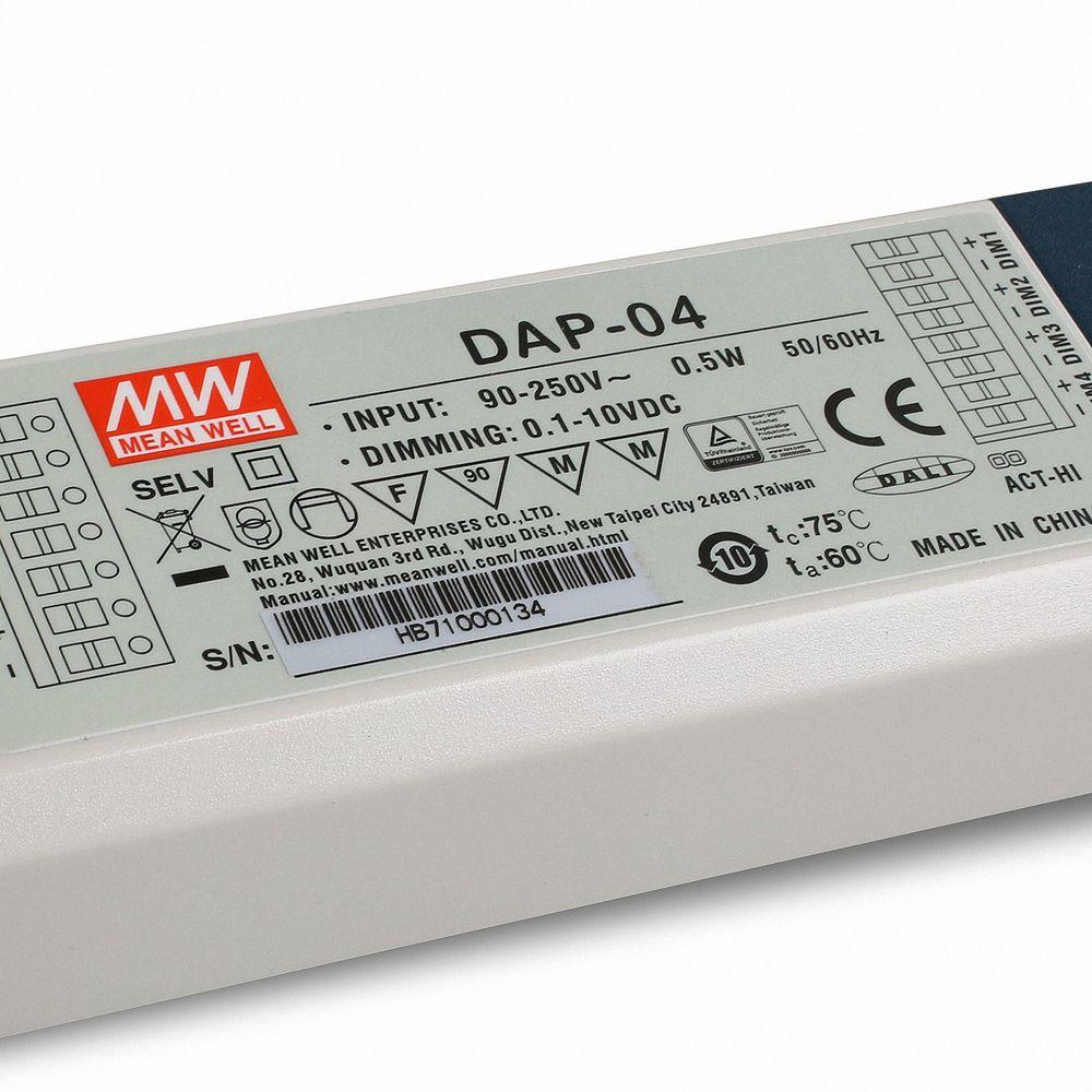 Mean Well DALI-PWM-Converter Serie DAP-04-S01