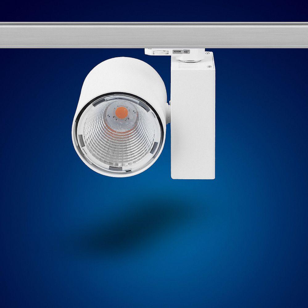 30W K20W Warmweiss LED 3 phasen strahler für Schienensystem
