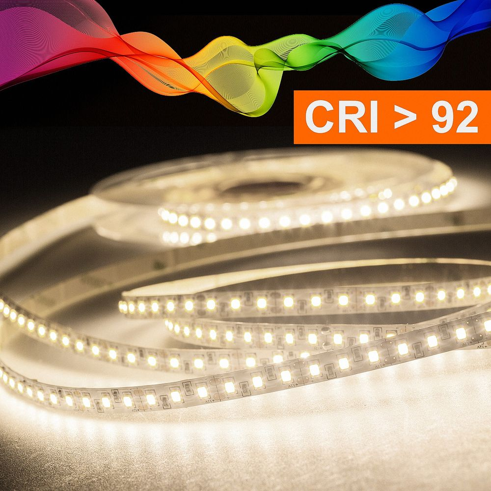 LED Strip 2835 Neutralweiß (4000k) CRI 92 72W 5 Meter 12V IP20