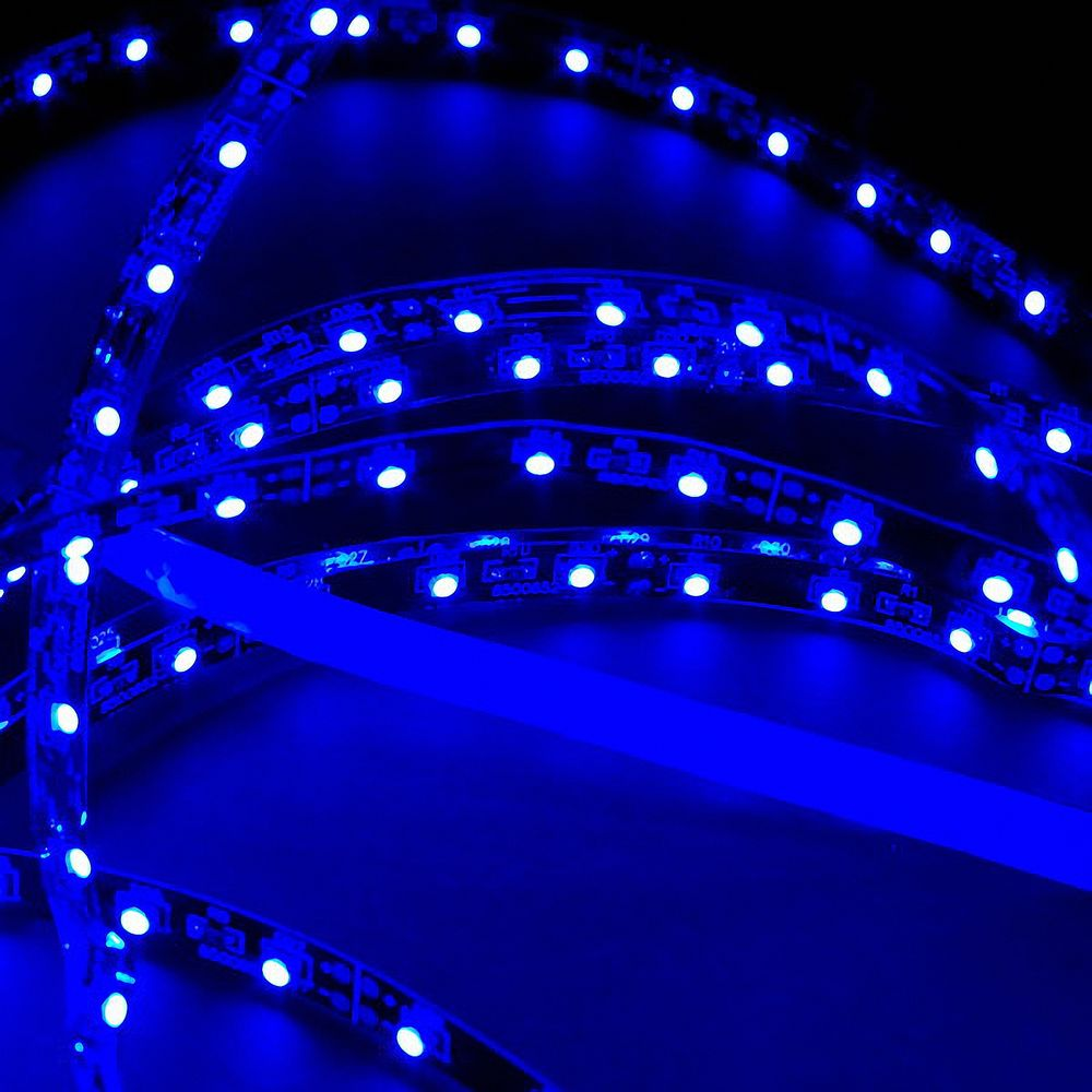 LED Strip 3528 Blau 465-470nm 24W 500CM 24V IP20