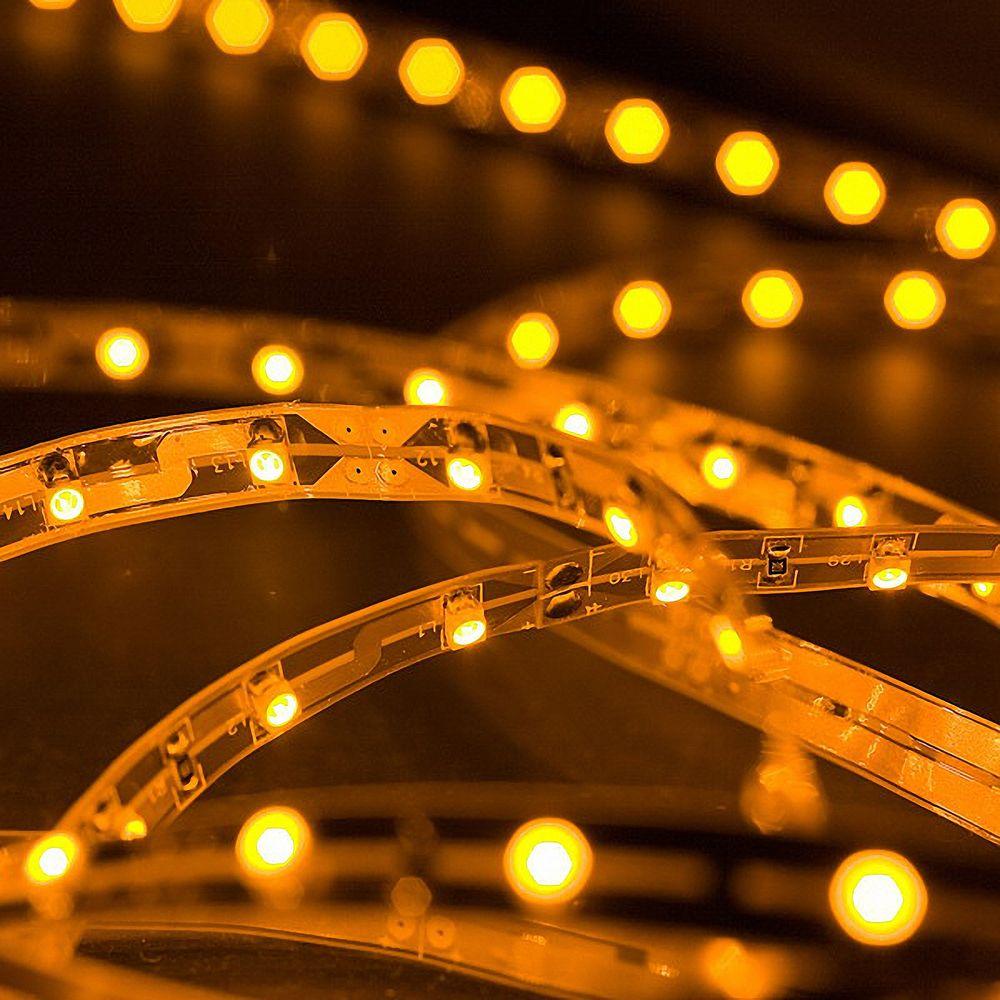 LED Strip 3528 Gelb 588-592nm 24W 500CM 24V IP20