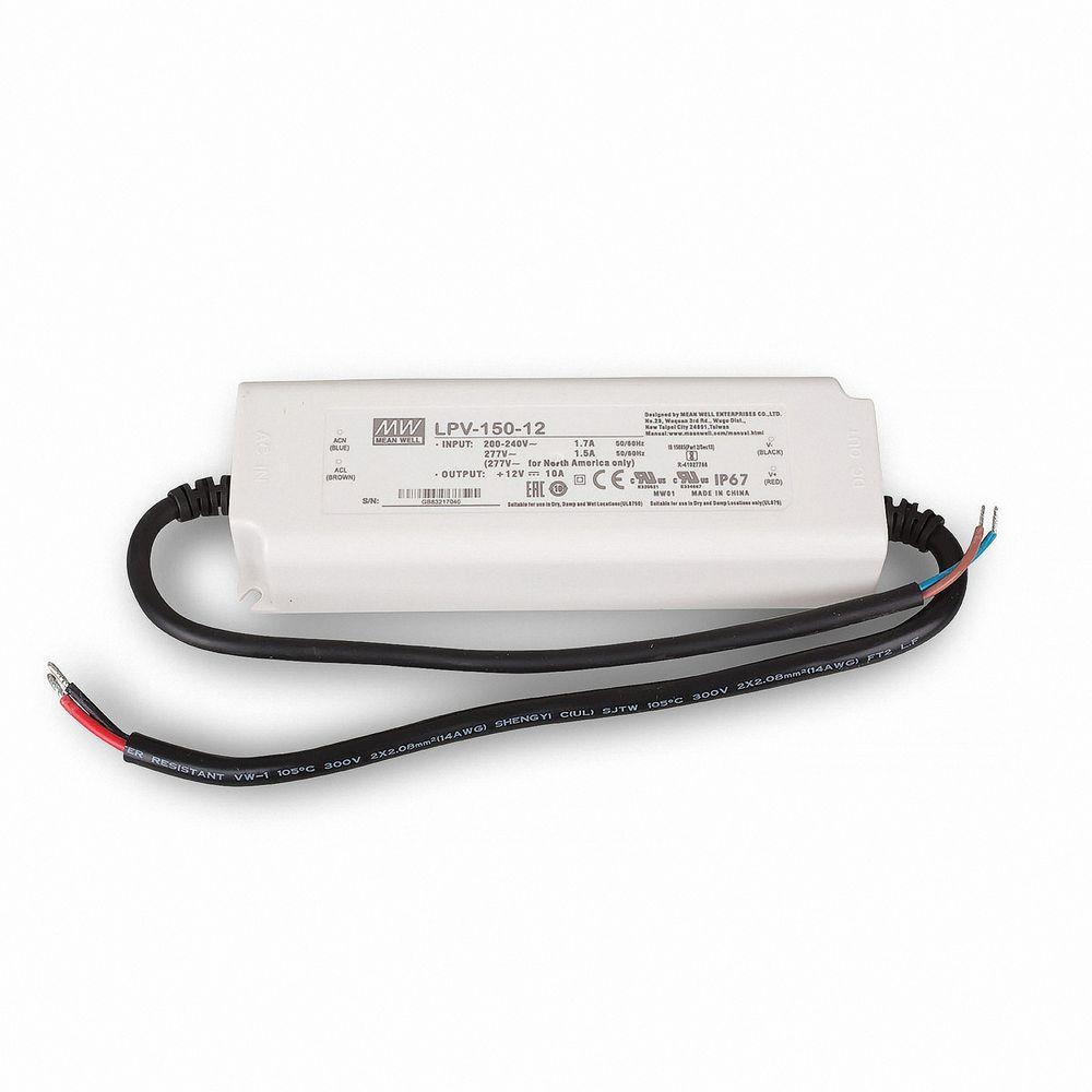 Mean Well LPV-150-12 Schaltnetzteil, 12V / 10A / 120W IP67