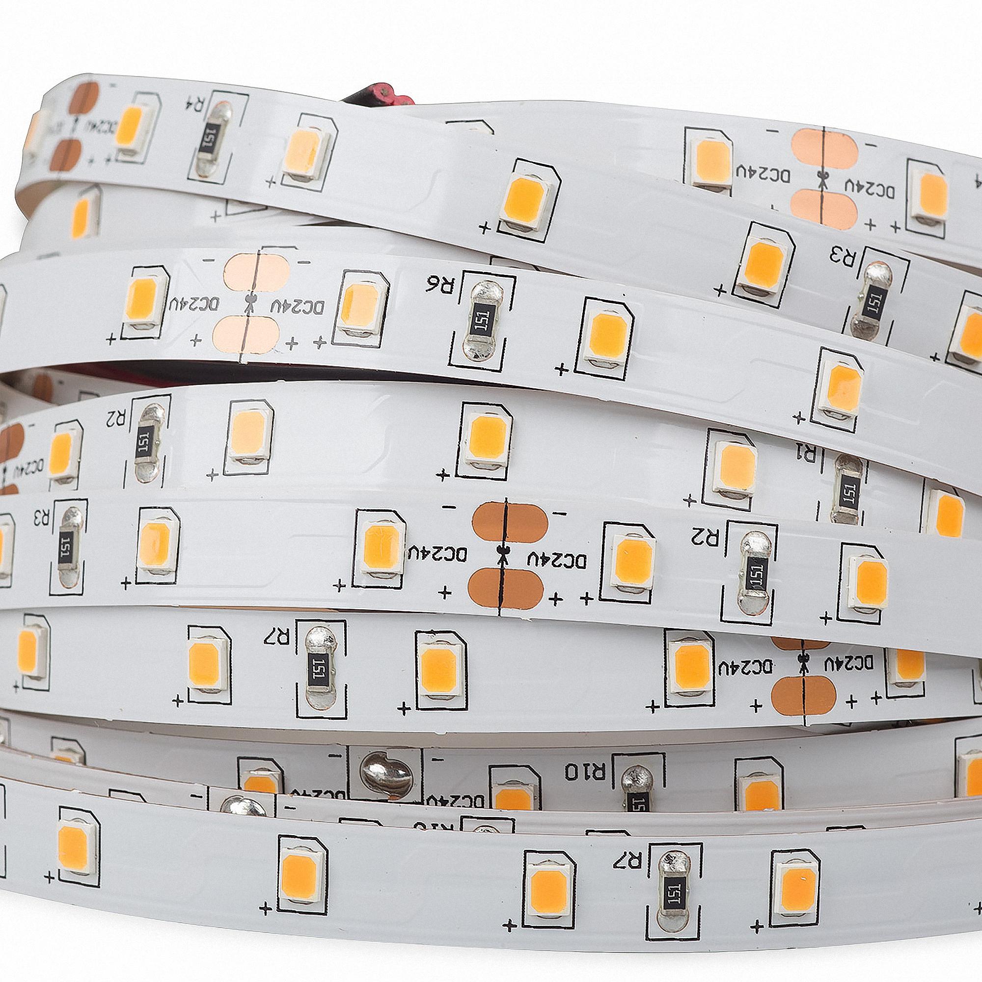 Smd2216 Cri90 5m 96w 280led//M 4000k 24v Led Strip Streifen Weiß Neutro C3f2