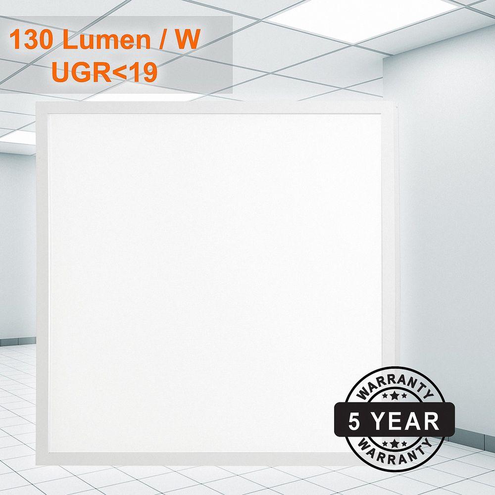 LED Aufputz Panel 62x62 38W (W) Weß UGR19 dimmbar