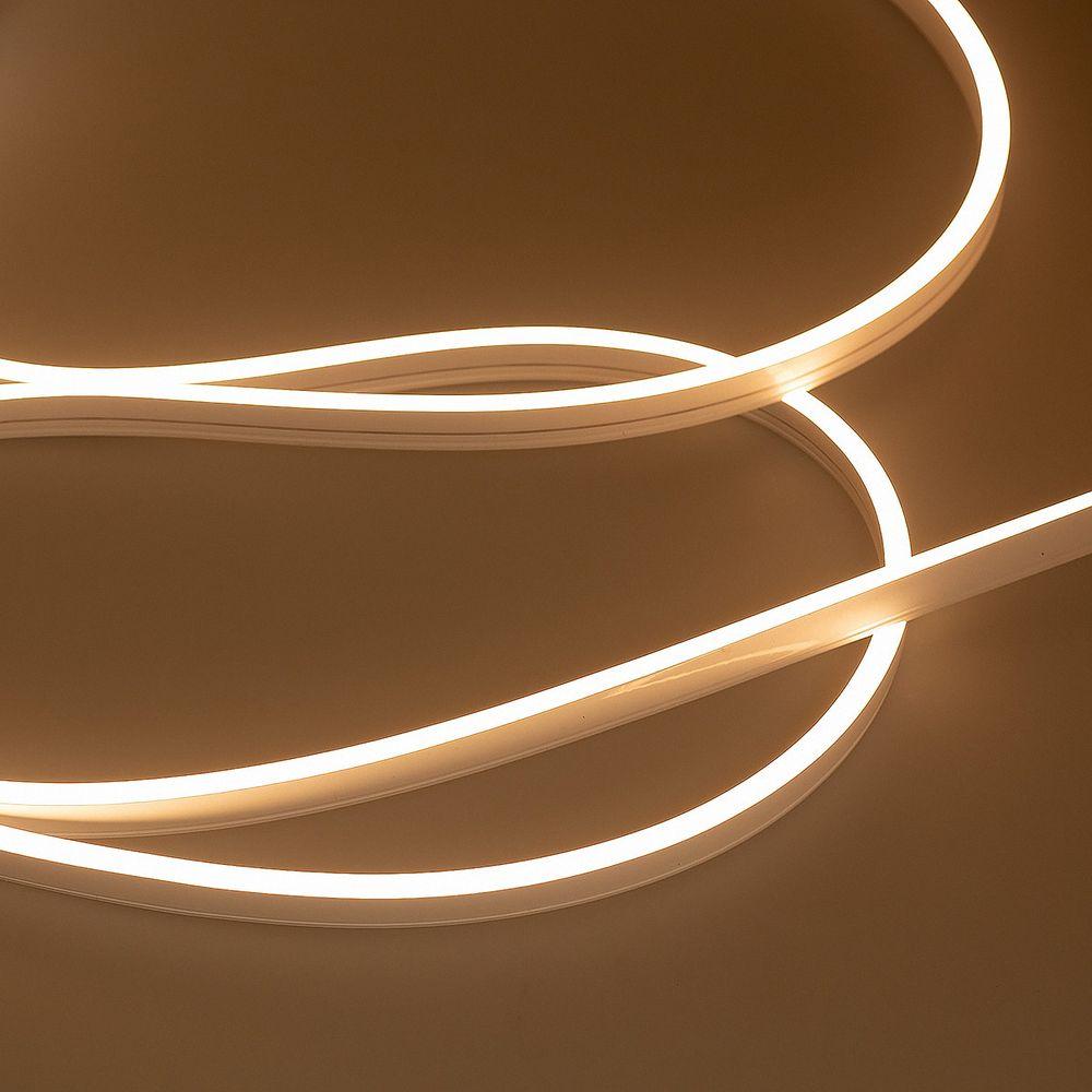 LED Neon Strips S03 Sideview 3000K Warmweiß 5 Meter 24V 45W IP67