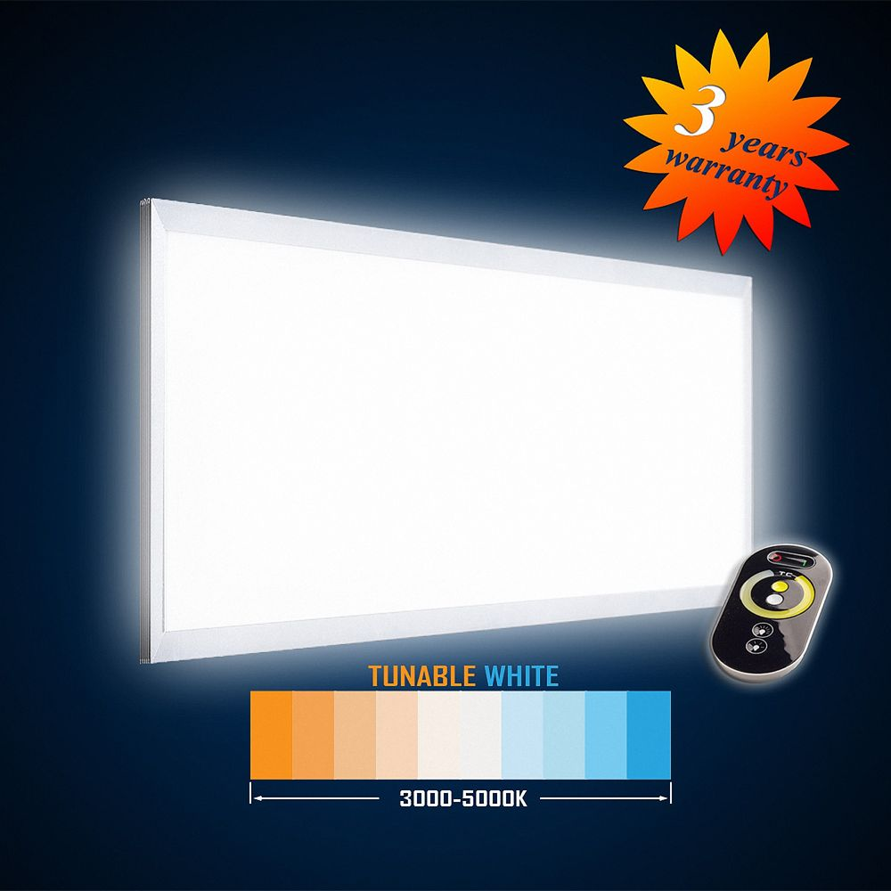 LED Aufputz Panel 1195x595 54W (S) TUNABLE WHITE (2700-6000K) flicker free