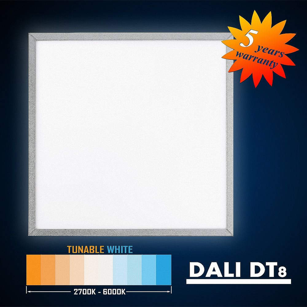 DALI DT8 2700-6000K TUNABLE WHITE LED Aufputz Panel 62x62 50W S