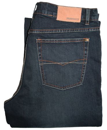 Paddocks Stretch Jeans Ranger 253.628.5703 blue black dark used – Bild 3