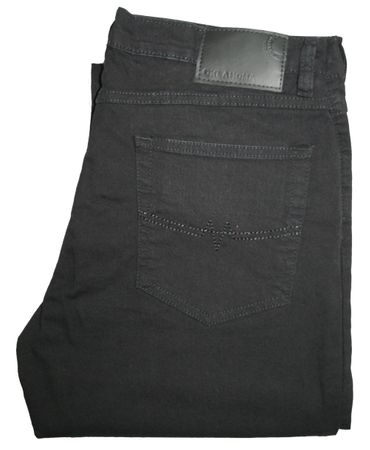 Oklahoma Stretch Jeans Matrix R-140 SBS black / schwarz – Bild 5