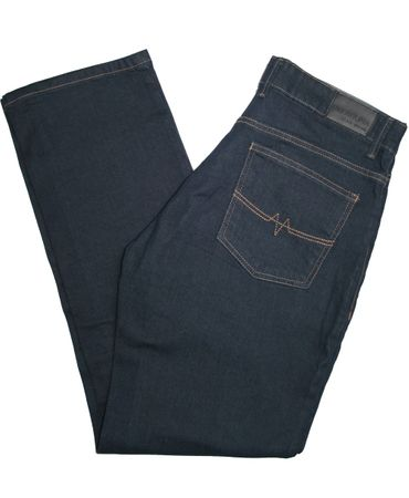 Oklahoma Stretch Jeans Matrix R-140 OD over dyed dunkelblau – Bild 2