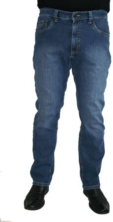 Pioneer Stretch Jeans 9862.06.1684 - Rando stone used / blau auch in extra lang
