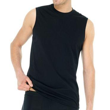 Doppelpack Schiesser Herren Muscle Shirt Top 208010 schwarz oder weiss – Bild 2
